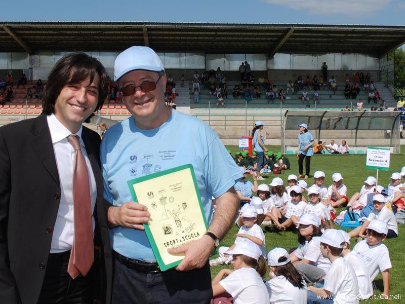Il vicesindaco Piergallini ed il dirigente Vagnarelli