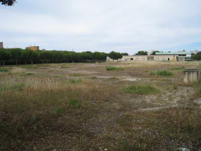 Il terreno a Villa Rosa che sarà venduto dal Comune attraverso un'asta pubblica