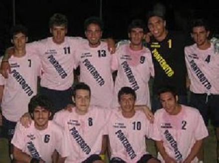 La squadra del quartiere Ponterotto, trofeo dei Quartieri 2008