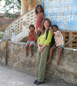 Raffaella in India