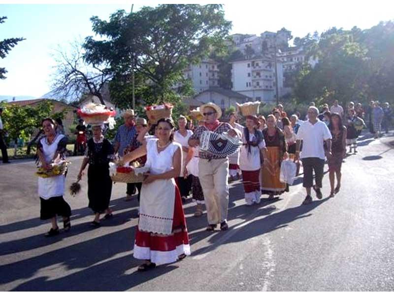 La sfilata delle Canestrelle (foto d'archivio)