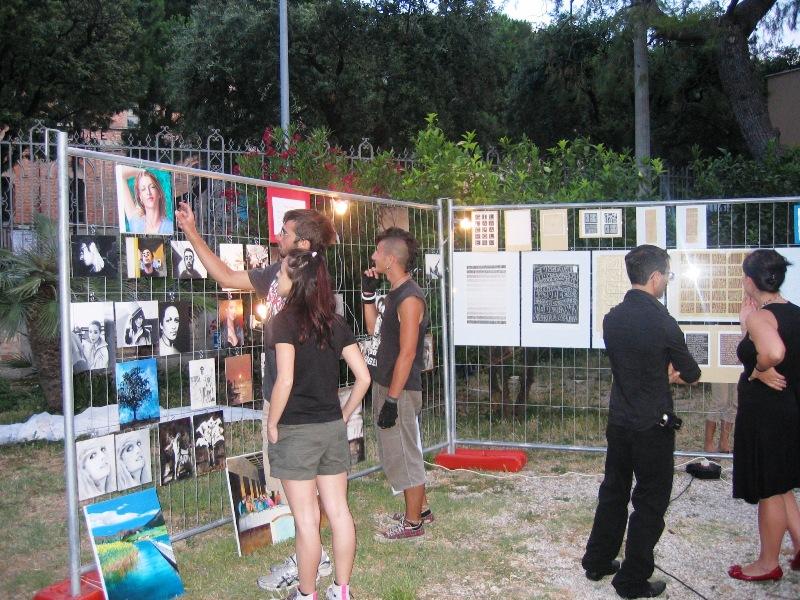 Il recente appuntamento con la cultura del DepArt nel giardino comunale