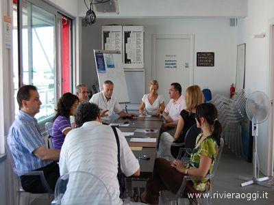 L'incontro organizzato presso il Circolo Nautico sambenedettese