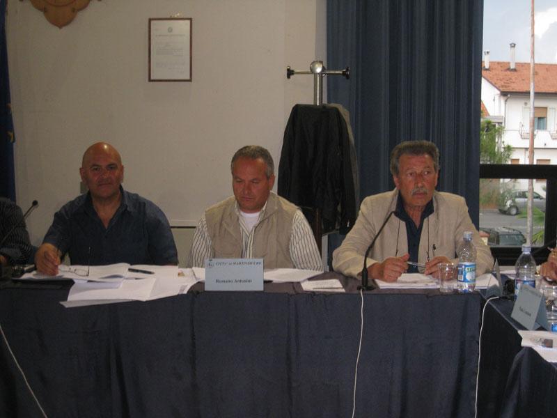MAuro PAci, Romano Antonini e Ignazio Caputi del gruppo consiliare del Partito Democratico