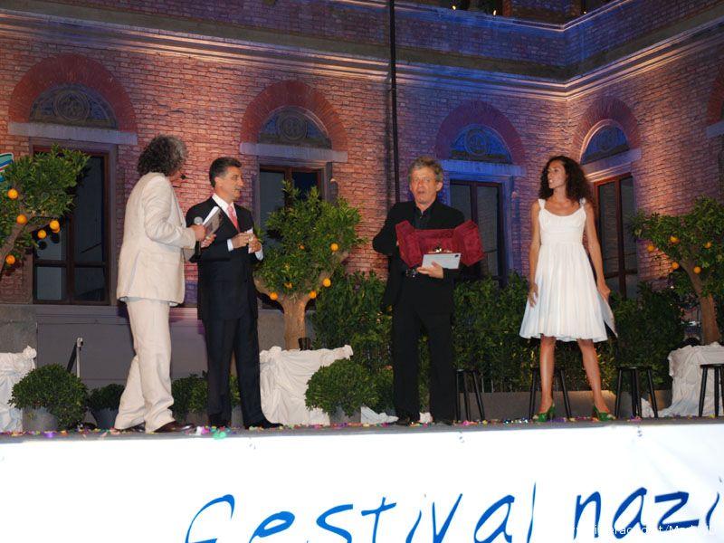 Paolo Rossi Arancia d'oro della XXIV edizione del Cabaret amoremio!