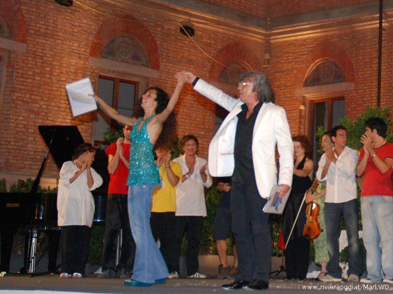 Teresa Mannino e Savino Cesario