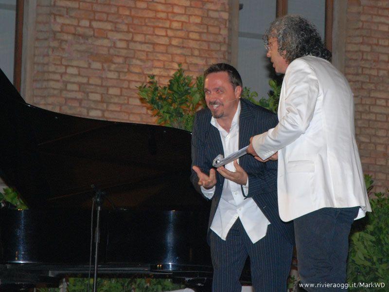 Gabriele Cirilli e Savino Cesario