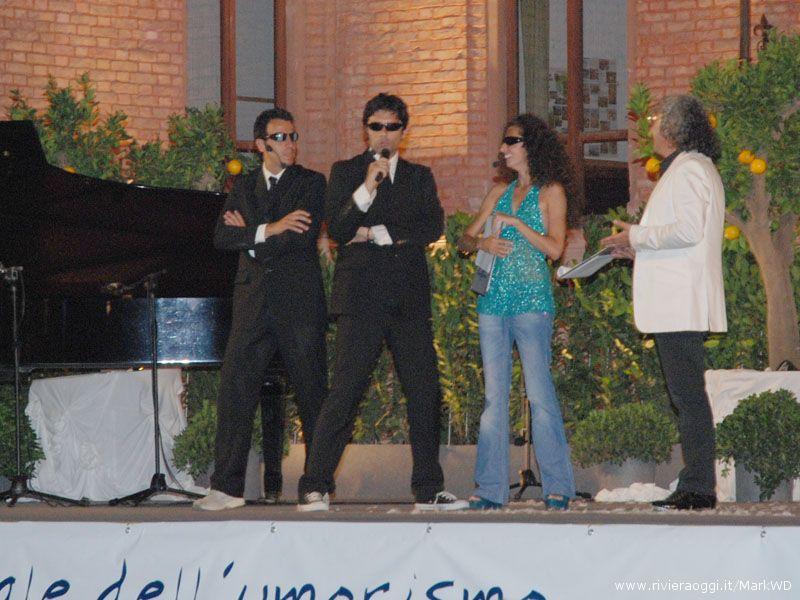 Gigi e Ross, Teresa Mannino e Savino Cesario