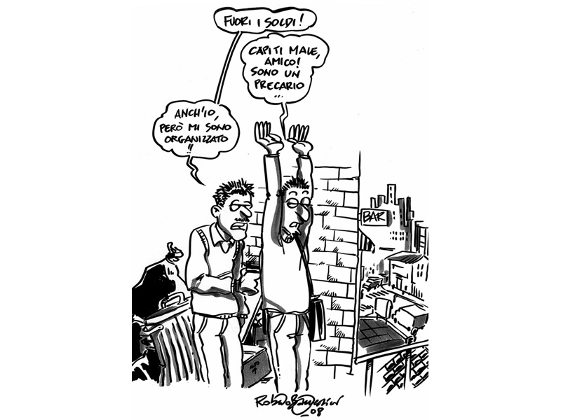 La vignetta satirica di Roberto Battestini