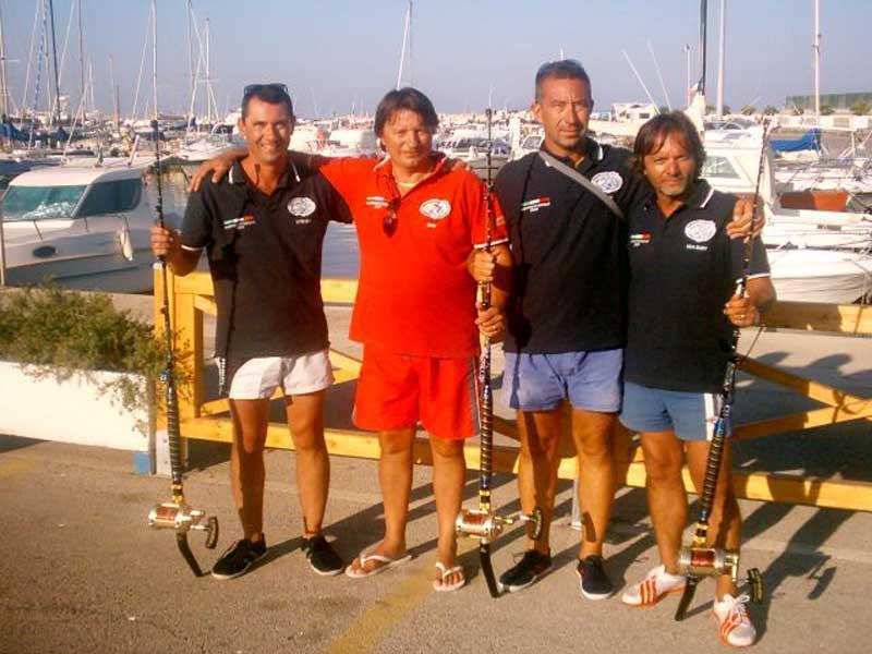 Il team vincitore di Rovigo
