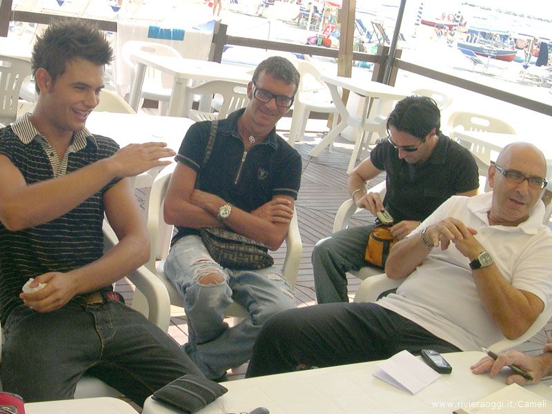 Da sinistra Alessandro Cameli, Floriano Tavoletti, Giuseppe Cameli, Tullio Luciani
