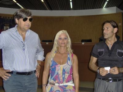 Domenico Mozzoni, Oriana Simonetti e Lello Trivisonne