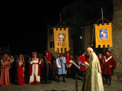 Rievocazione storica a Tortoreto con il Palio del Barone
