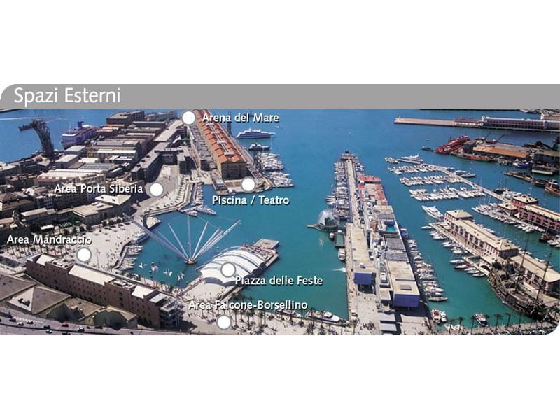 Una visuale del porto di Genova (foto tratta dal sito www.portoantico.it)