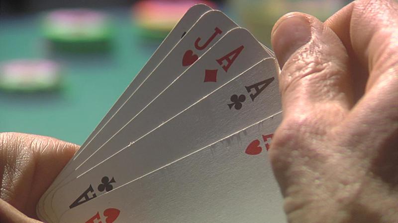 Poker sportivo allo chalet Sapore di mare