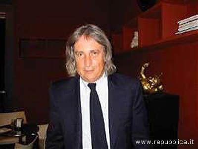Lo sceneggiatore italiano Enrico Vanzina