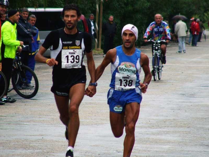 Ascoli-San Benedetto 2008: Piergiorgio Conti e Gilberto Pallotta tagliano insieme il traguardo