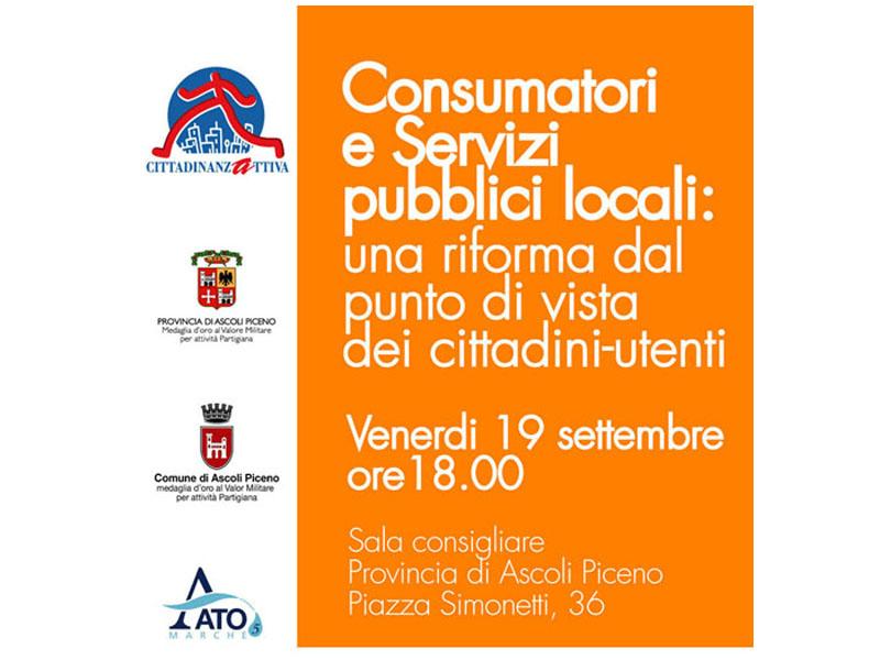 Consumatori e servizi locali: una riforma dal punto di vista del cittadino