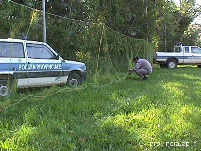 Polizia Provinciale in azione