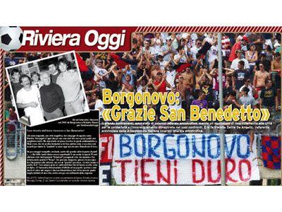 Il poster di Riviera Oggi dedicato a Stefano Borgonovo