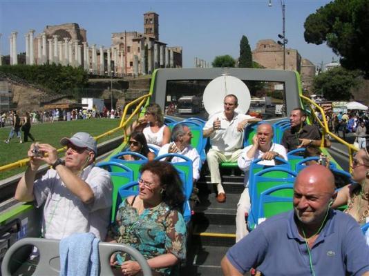 Alla scoperta di Roma con il Trambus Open