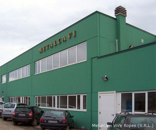 Il nuovo stabilimento della Metalcavi che, da Zona Ascolani, si è spostato nella zona industriale di Ripatransone