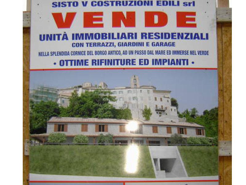 Il progetto del nuovo edificio sotto le mura del Paese alto