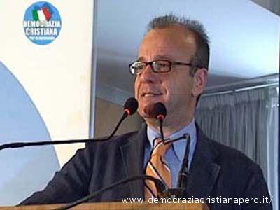 Il segretario nazionale della Dc per le autonomie, Gianfranco Rotondi