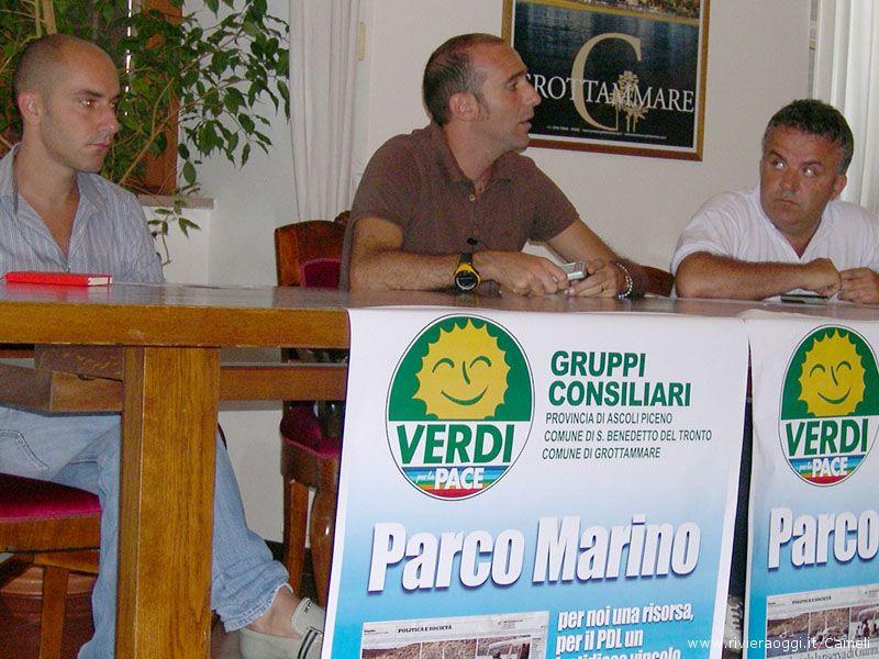 Daniele MAriani, Paolo Canducci, Andrea Marinucci