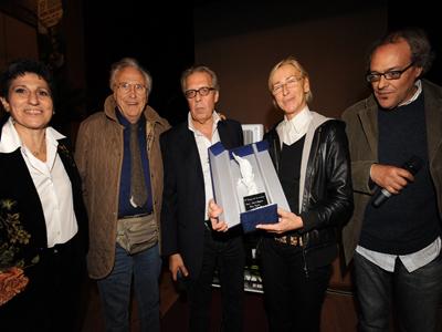 La premiazione del giornalista Pino Scaccia