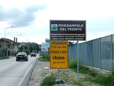 Continuano i lavori per il sottopasso di via Colombo a Stella di Monsampolo