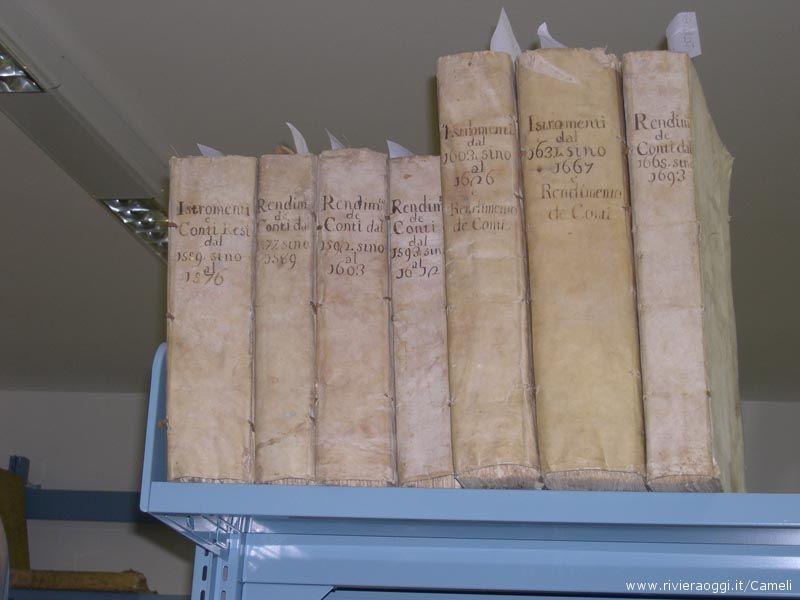 Documenti che risalgono al 1600