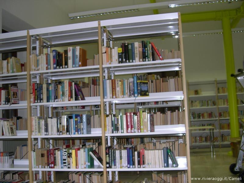 Riviera oggi biblioteca rivosecchi la nuova casa for Costo della costruzione di una nuova casa