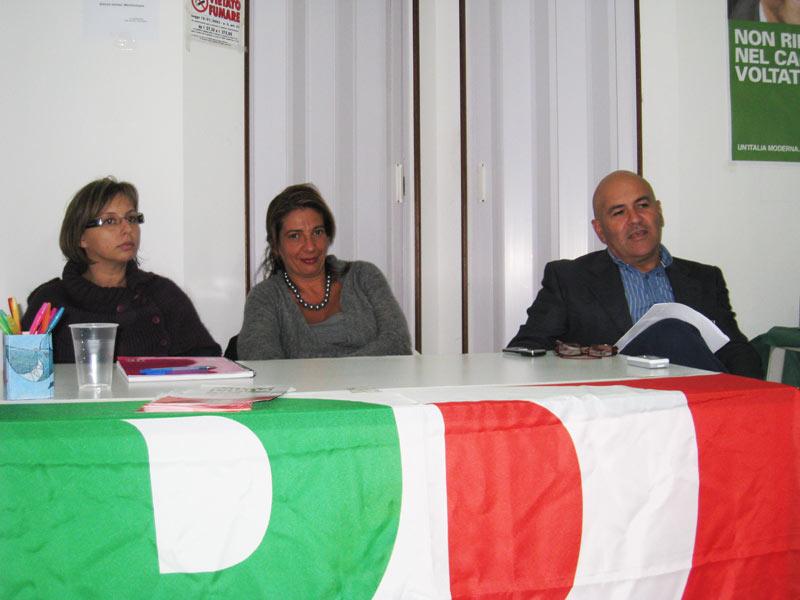 Mariagrazia Facciabene, Monica Bovolenta e Mauro Paci