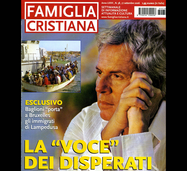 Una copertina di Famiglia Cristiana