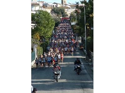 Un tratto del percorso della gara in una delle passate edizioni