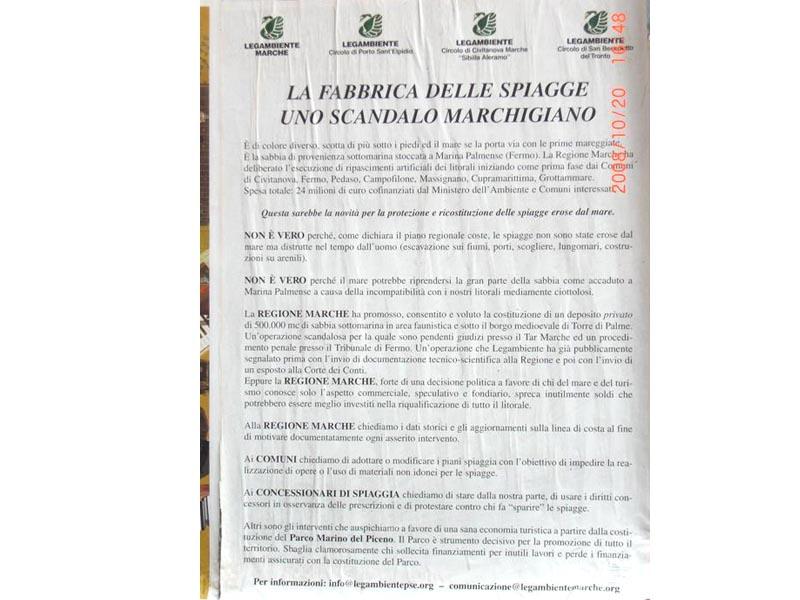 Il manifesto di Legambiente