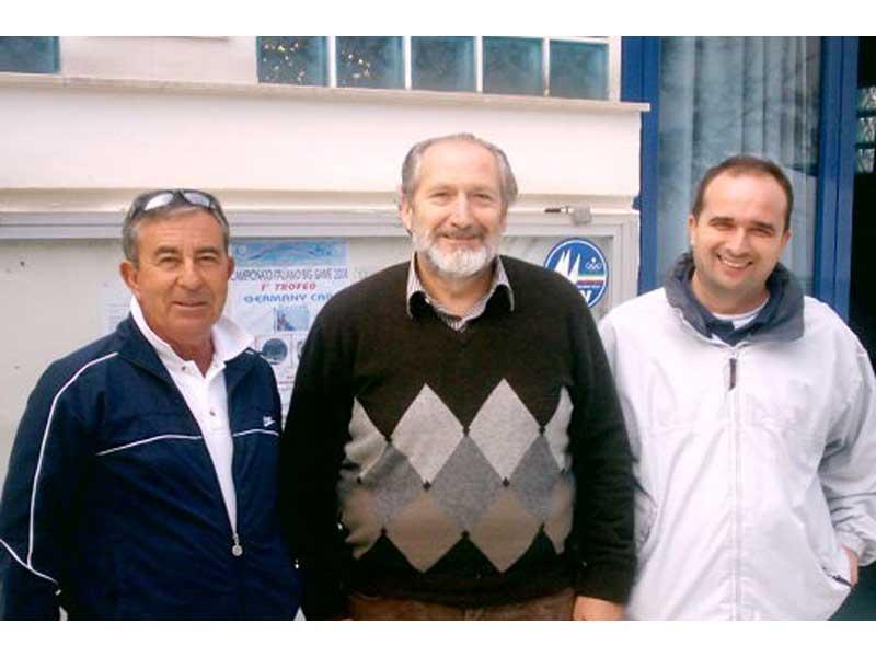 I tre presidenti dei circoli che hanno formato la convenzione