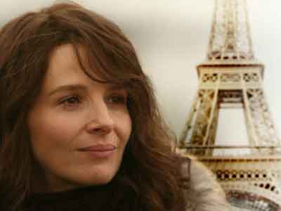 Juliette Binoche nel film