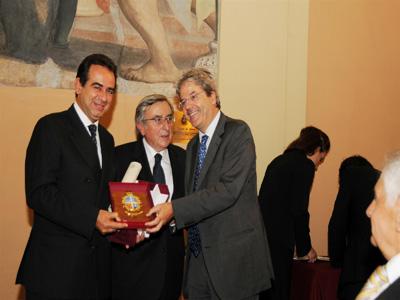 La premiazione di Pietro Colonnella