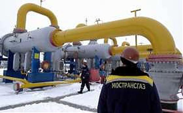 Un impianto del gas