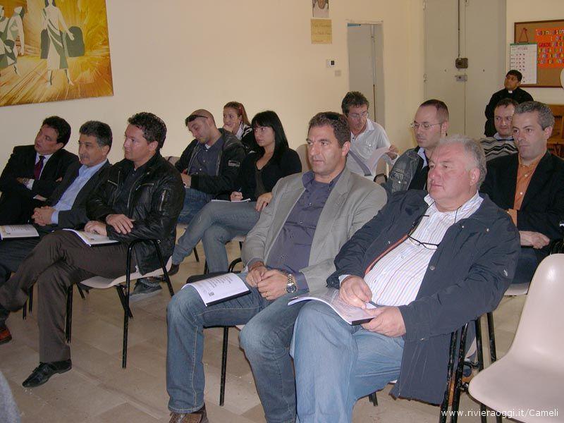 I Sindaci intervenuti in conferenza