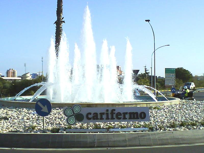 La rotatoria di Ragnola sponsorizzata dalla Carifermo
