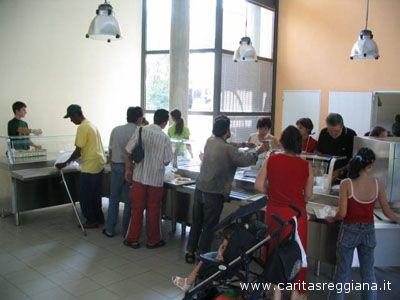 Una mensa della Caritas