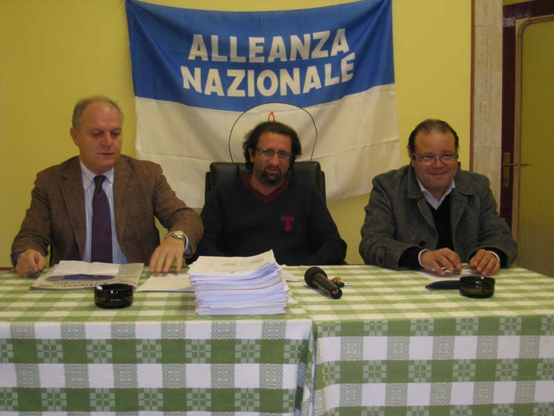 Luigino Fedeli, Toni Lattanzi e Giacinto De Luca