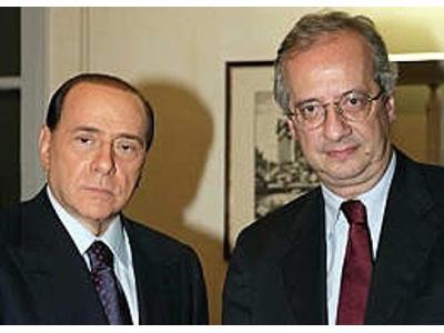 Silvio Berlusconi e Walter Veltroni