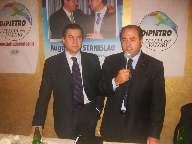 Augusto Di Stanislao e Antonio Di Pietro