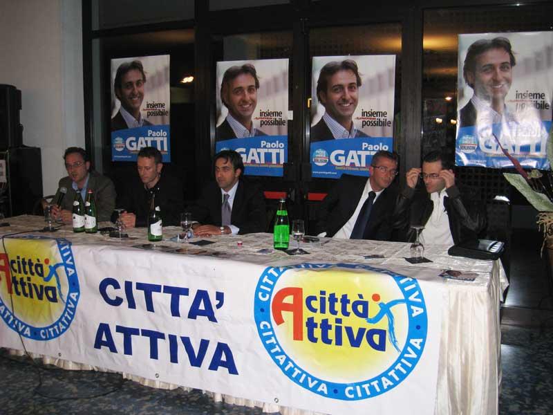 Andrea D'Ambrosio, Stefano Ciapanna, Paolo Gatti, Paolo Camaioni e Alduino Tommolini