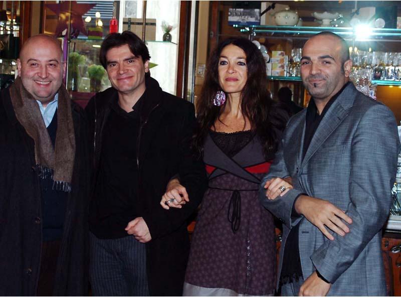 Andrea Maria Antonini, Stefano Artissunch, Marina Suma e Gilberto Santini