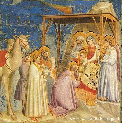 Giotto, Natività, Padova, Cappella degli Scrovegni